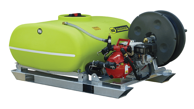 500L FireAttack™ Deluxe Slip On Skid Fire Fighting Unit
