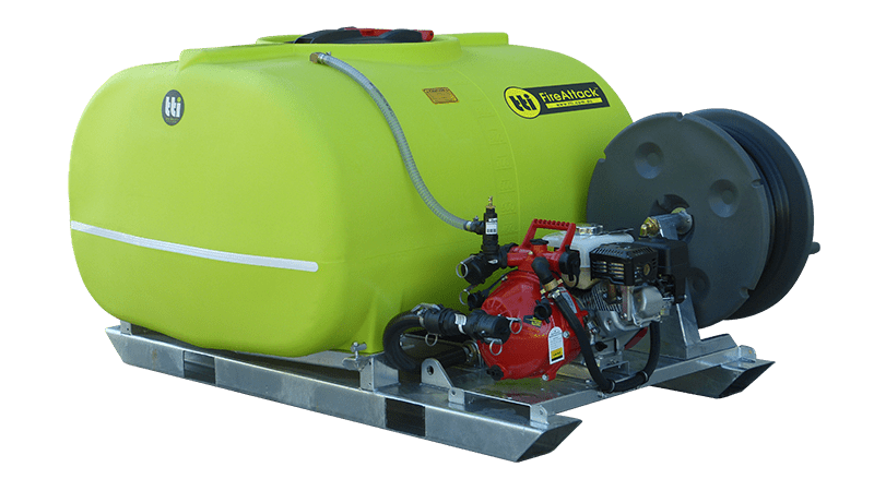 1000L FireAttack™ Deluxe Slip On Skid Fire Fighting Unit