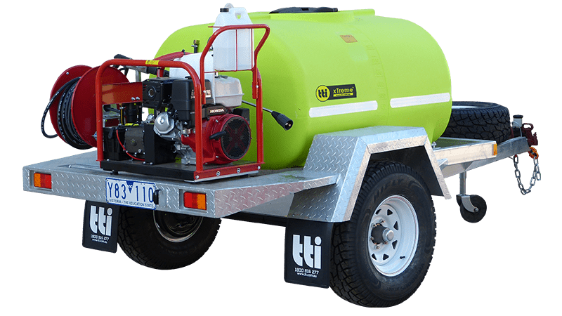 1000L xTreme™ Presssure Cleaning and Washdown Trailer