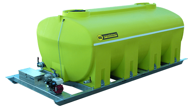10000L AquaDelivery™ Water Delivery Unit (Low-Profile)