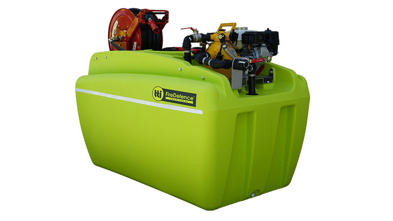1000L FireDefence™ Portable Fire Fighting Unit