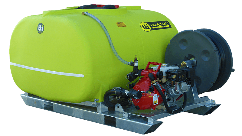 1500L FireAttack™ Deluxe Slip On Skid Fire Fighting Unit