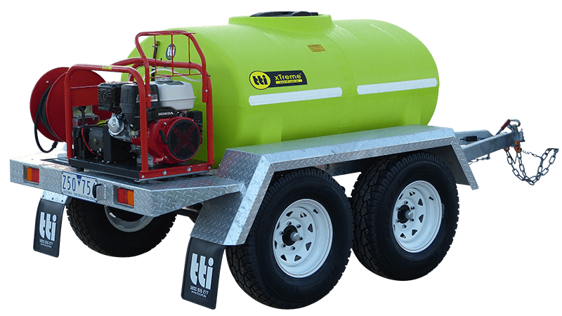 1200L xTreme™ Presssure Cleaning and Washdown Trailer